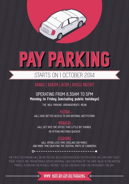 NCA Parking Poster